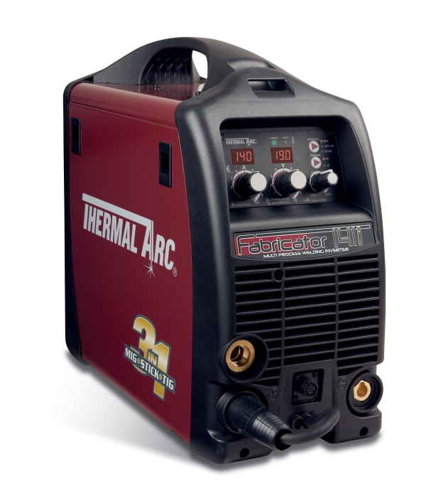 "Victor Technologies Introduces Fabricator® 141i ""3-in-1"" Welder, The First 115V, DIY Welder with MIG-Stick-TIG Welding Outputs"